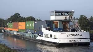 Eerste elektrische binnenvaartschip Nederland in gebruik genomen   NOS